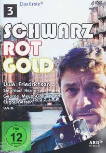 Schwarz Rot Gold Box 3 (Folge 13-18), 4 DVDs