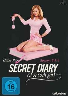 Secret Diary of a Call Girl Season 3 & 4, 2 DVDs