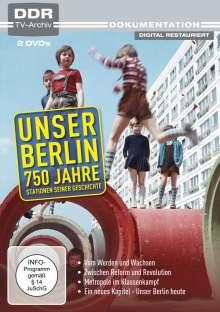 Unser Berlin - 750 Jahre, 2 DVDs