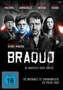 Braquo Season 1, 3 DVDs