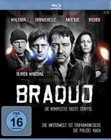 Braquo Season 1 (Blu-ray), 3 Blu-ray Discs