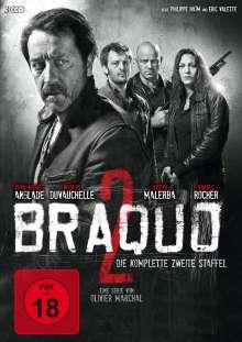Braquo Season 2, 3 DVDs
