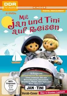 Mit Jan und Tini auf Reisen Box 3, 2 DVDs