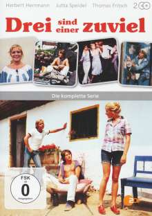 Drei sind einer zuviel (Komplette Serie), 2 DVDs