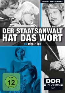 Der Staatsanwalt hat das Wort Box 6: 1980-1981, 4 DVDs