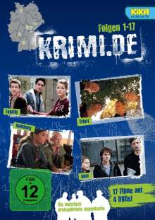 krimi.de - Staffel 1-5, 4 DVDs