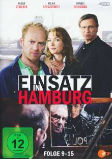 Einsatz in Hamburg Box 2, 4 DVDs