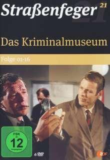 Straßenfeger Vol.21: Das Kriminalmuseum Folge 1-16, DVD