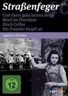 Straßenfeger Vol.46: Und dann gabs keines mehr / Mord im Pfarrhaus / Black Coffee / Ein Fremder klopf an, 4 DVDs