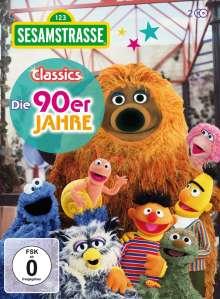 Sesamstrasse Classics: Die 90er Jahre, 2 DVDs
