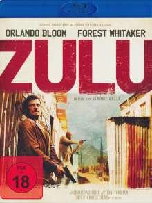 Zulu (2013) (Blu-ray), Blu-ray Disc