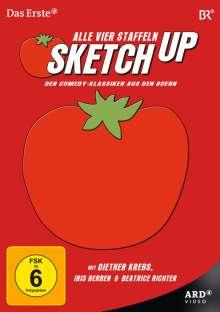 Sketchup Staffeln 1-4, 4 DVDs