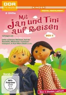 Mit Jan und Tini auf Reisen Box 5, 2 DVDs