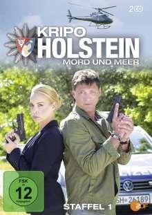 Kripo Holstein: Mord und Meer Staffel 1, 2 DVDs