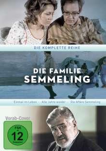 Die Familie Semmeling (Einmal im Leben & Alle Jahre wieder) (Komplette Serie), 7 DVDs