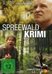 Spreewaldkrimi 1-7, 4 DVDs