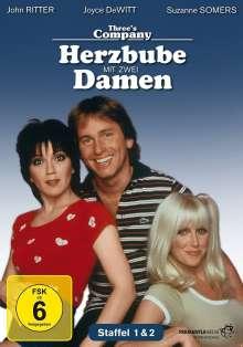 Herzbube mit zwei Damen Staffel 1 & 2, 5 DVDs
