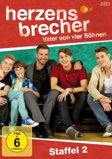Herzensbrecher Staffel 2, 3 DVDs