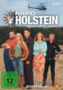Kripo Holstein: Mord und Meer Staffel 2, 4 DVDs