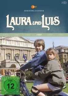 Laura und Luis (Komplette Serie), 2 DVDs