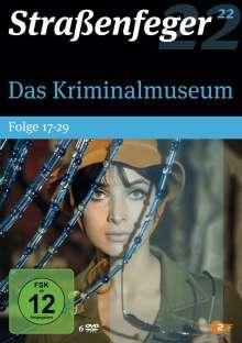 Straßenfeger Vol. 22: Das Kriminalmuseum Folge 17-29, 6 DVDs