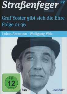 Straßenfeger Vol.27: Graf Yoster gibt sich die Ehre Folge 1-36, 5 DVDs