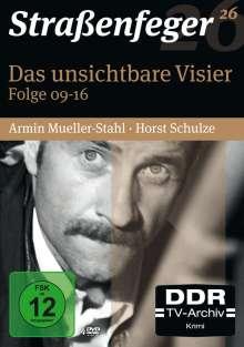 Straßenfeger Vol.26: Das unsichtbare Visier Folge 9-16, 4 DVDs