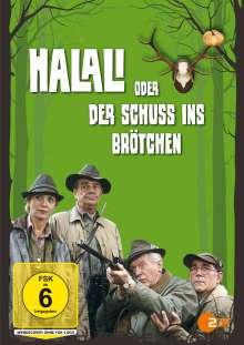 Halali oder der Schuss ins Brötchen, DVD