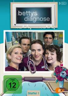 Bettys Diagnose Staffel 1, 3 DVDs
