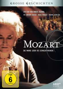 Mozart (TV-Serie), 3 DVDs