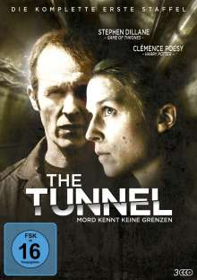 The Tunnel Season 1, 3 DVDs