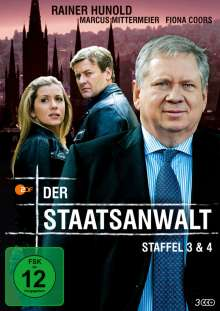 Der Staatsanwalt Staffel 3 & 4, 3 DVDs