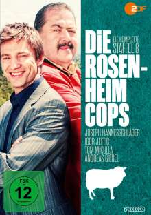 Die Rosenheim-Cops Staffel 8, 6 DVDs