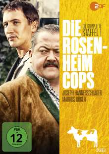 Die Rosenheim-Cops Staffel 1, 3 DVDs