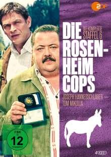 Die Rosenheim-Cops Staffel 6, 4 DVDs