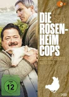 Die Rosenheim-Cops Staffel 2, 3 DVDs