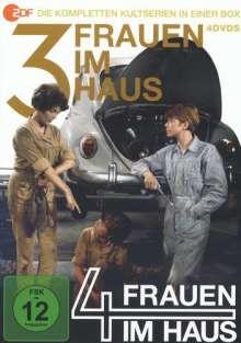 Drei Frauen im Haus / Vier Frauen im Haus (Komplette Serien), 4 DVDs