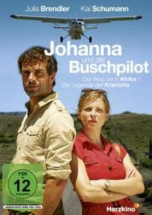 Johanna und der Buschpilot: Der Weg nach Afrika / Die Legende der Kraniche, DVD