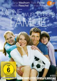 Meine wunderbare Familie (Komplette Serie), 4 DVDs