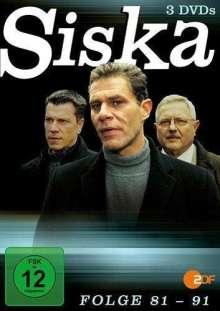 Siska Folge 81-91, 3 DVDs