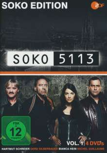 Soko Edition: Soko 5113 Vol.1, 4 DVDs