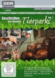 Geschichten aus unseren Tierparks Vol. 1, DVD