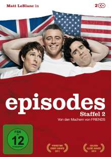Episodes Season 2, 2 DVDs