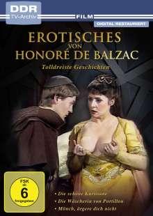 Erotisches von Honoré de Balzac: Tolldreiste Geschichten, DVD