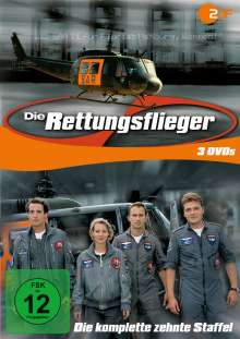 Die Rettungsflieger Staffel 10, 3 DVDs