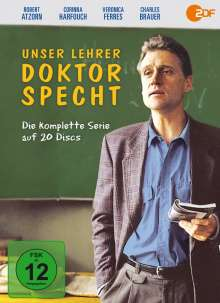 Unser Lehrer Dr. Specht (Komplette Serie), 20 DVDs