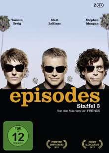 Episodes Season 3, 2 DVDs
