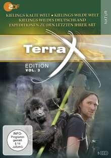Terra X Vol. 3: Kielings wilde Welt / Kieling: Expeditionen zu den letzten ihrer Art / Kielings wildes Deutschland, 3 DVDs