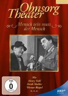 Ohnsorg Theater: Mensch sein muss der Mensch, DVD