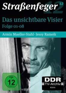 Straßenfeger Vol.12: Das unsichtbare Visier (Folgen 1-8), 4 DVDs